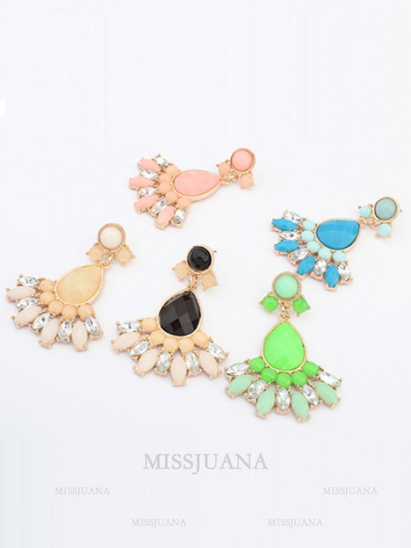 Occident Stylish Sweet Geometry All-match Hot Sale Earrings