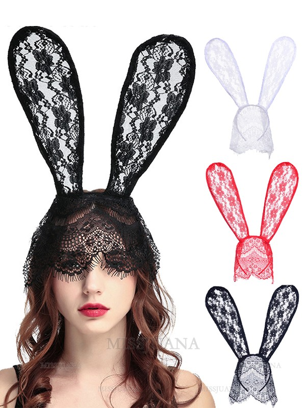 Halloween Energetic Lace Rabbit Headpieces