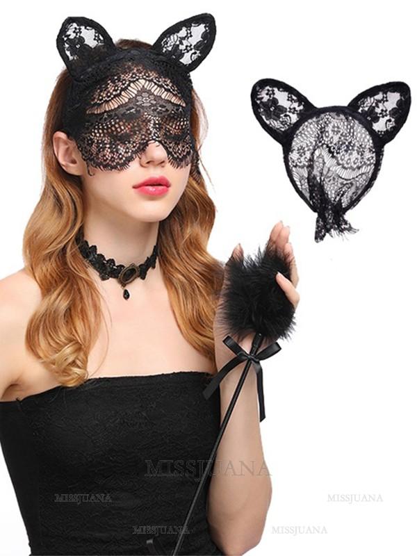 Halloween Elegant Lace Cat Headpieces