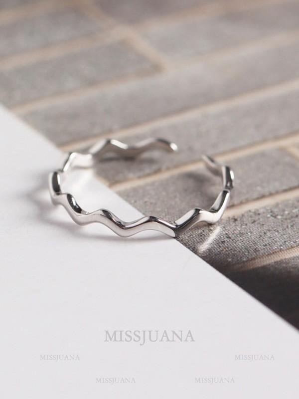 Korean New S925 Silver Hot Sale Adjustable Rings