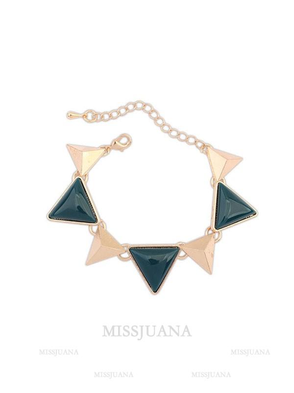 Occident Retro Punk Geometry Triangle Hot Sale Bracelets