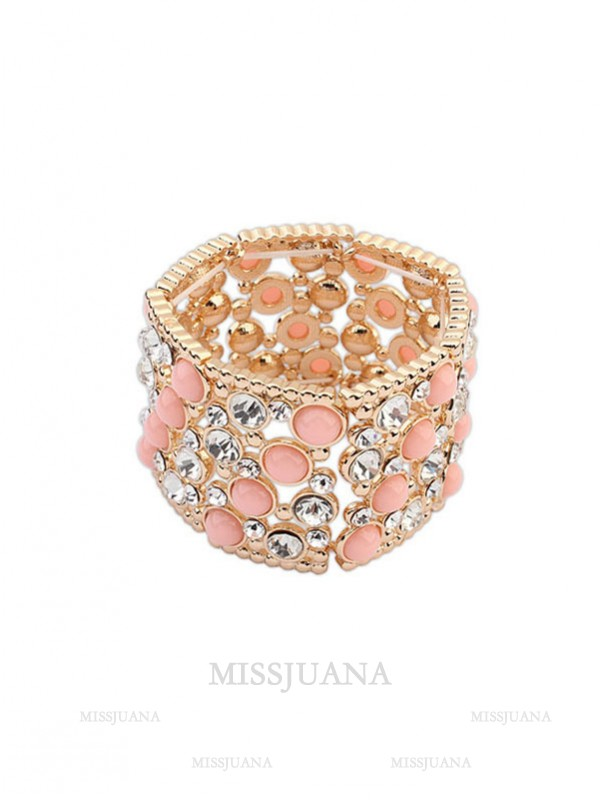 Occident Fashionable Wide Version Elasticity Hot Sale Bracelet