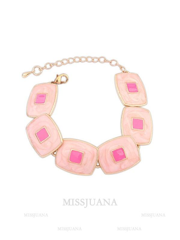 Occident Fashionable Elegant Blocks Temperament Hot Sale Bracelets