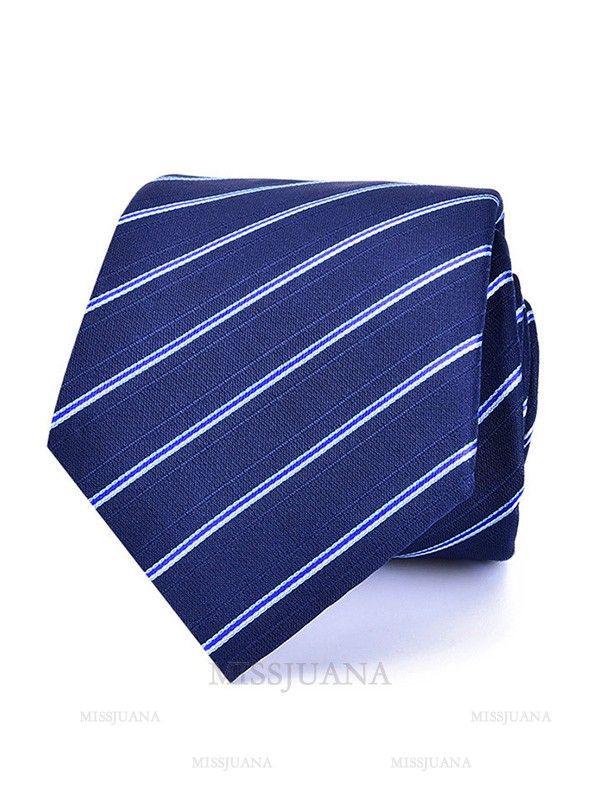 Classic Polyester Striped Tie