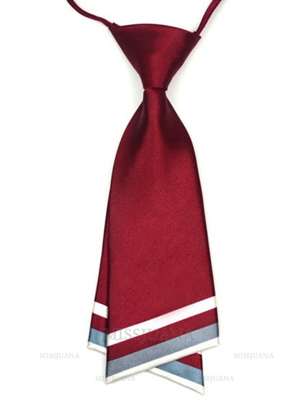 Modern Polyester Wide Tie For Women