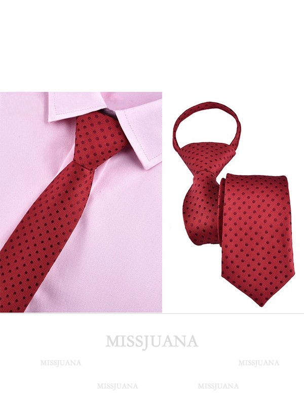 Vintage Style Polyester Tie