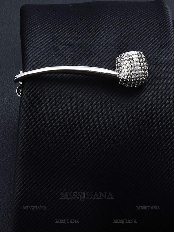 Classic Copper Tie Clip