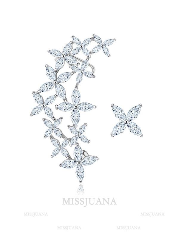 Romantic Crystal Hot Sale Earrings For Ladies