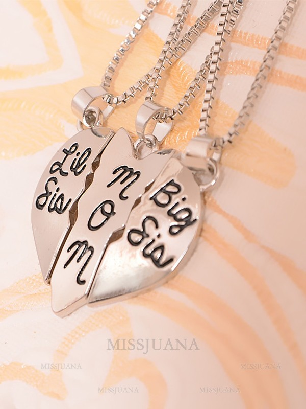 Attractive Alloy Hot Sale Necklaces For Mother