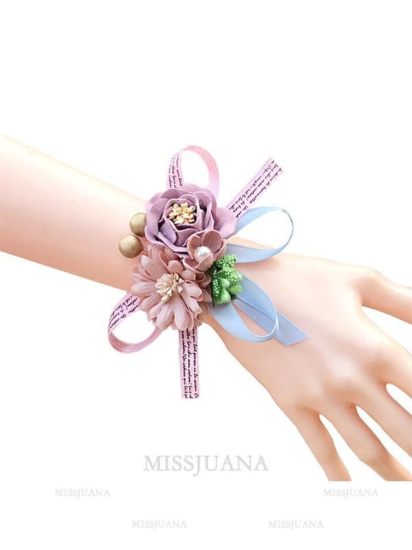 Charming Artificial Flower Wrist Corsage