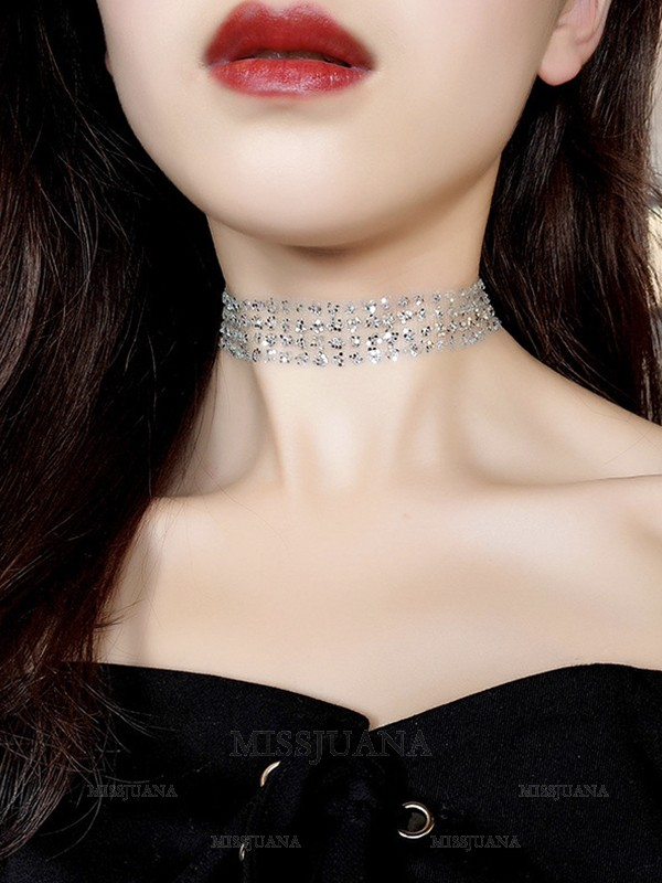 Chic Alloy Hot Sale Chokers For Ladies