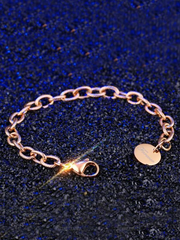 Trending Titanium Chain Bracelets For Women