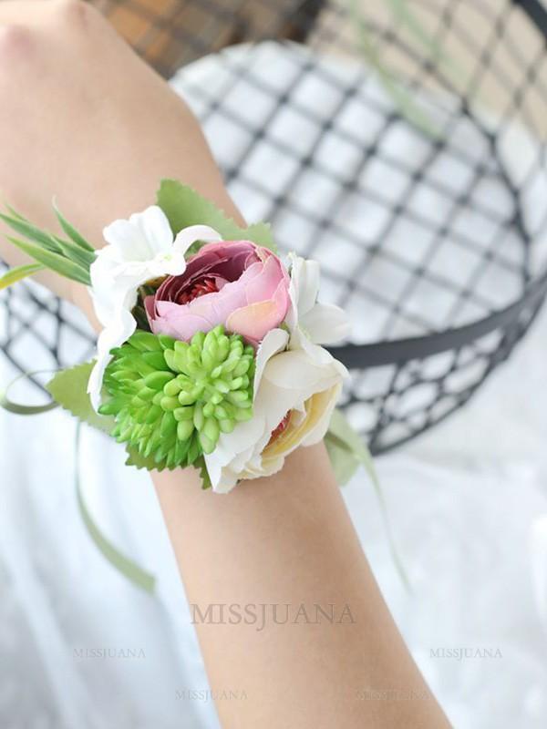 Graceful Cloth Hand-tied Wrist Corsage