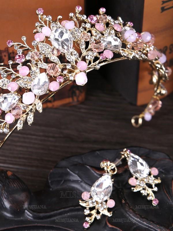 Unique Crystal Headpieces