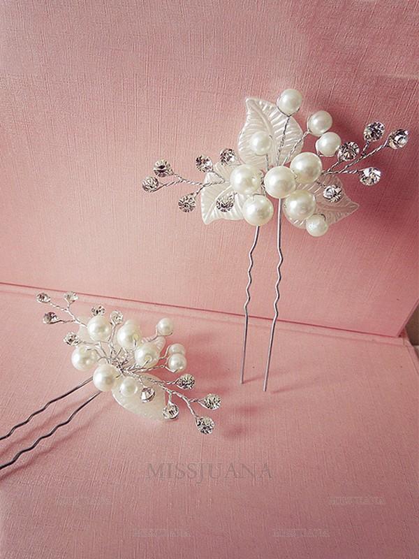 Very Elegant Pearl Headpieces