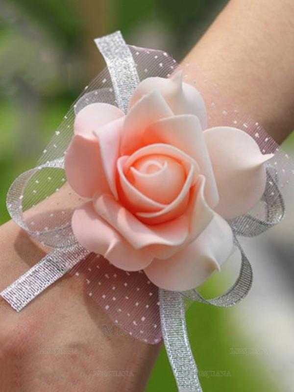 Simple Silk Wrist Corsage