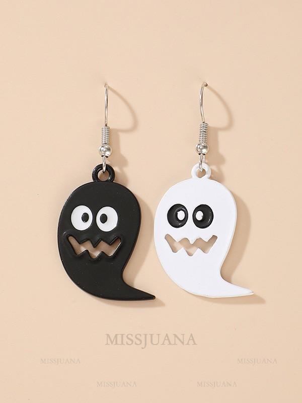Halloween Cute Alloy With Ghost Earrings