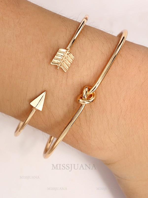 Charming Korean Alloy Hot Sale Bracelets(2 Pieces)