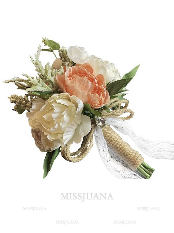 Fashion Free-Form Plastic Bridal Bouquets