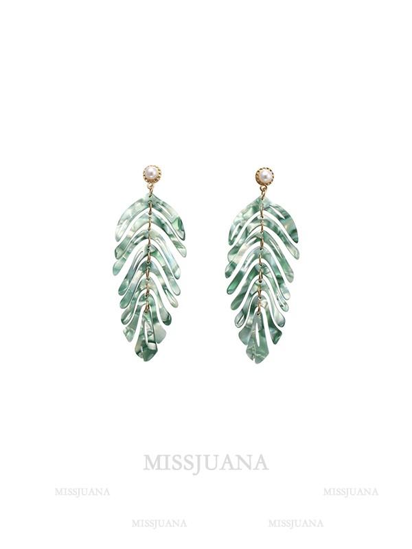 Fancy Alloy With Leaf Hot Sale Earrings