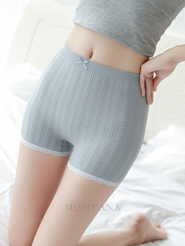 Hot Sale Women's Nylon Seamless Elastic Safety Pants/Safety Shorts