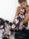 Nice Cotton Print Yoga Sports Bra&Leggings