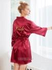 Comfortable Silk like Satin Bride Robes