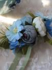 Charming Silk Flower Wrist Corsage